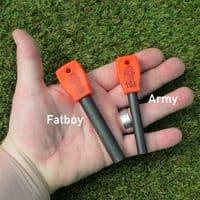 TBS Fire Lighting Kit with Fallkniven DC3t Sharpener